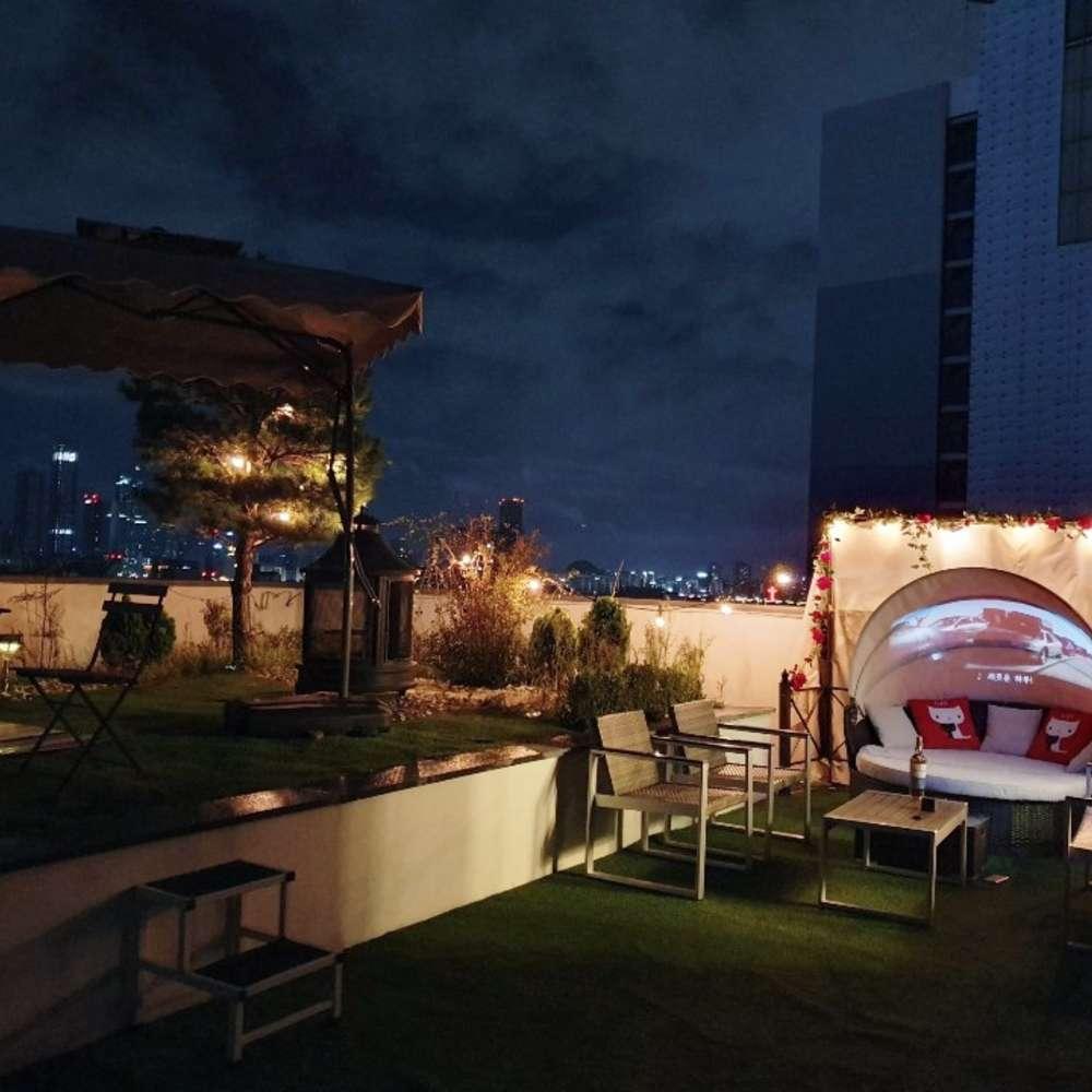 [홍대] 홍대 한강뷰 파티룸 옥탑바고양이