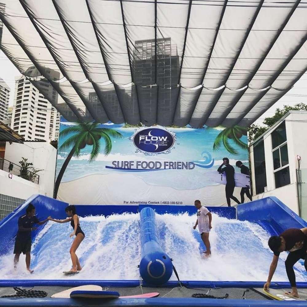 [태국, 방콕] [방콕] 플로우 하우스 2시간 서핑+ 디오 스파 90분 콤보 (태국/방콕)