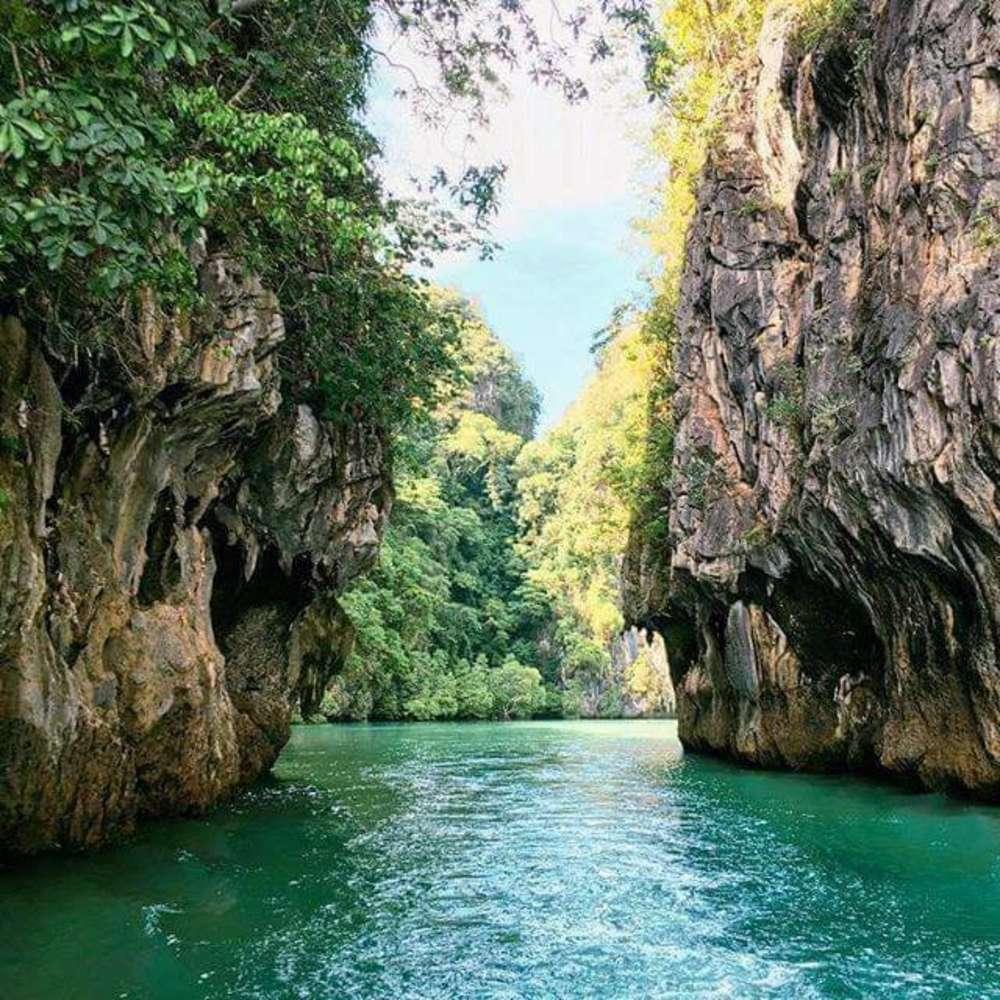 [태국, 푸켓] [투어] 팡아만 씨카누 투어 오전 출발 (3개 섬 투어) :: 태국/푸켓