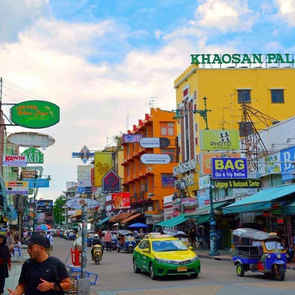 [태국, 방콕] [투어] [방콕] 방콕-담넌사두억 OR 암퍼와 -방콕 12시간 투어 (승용차/봉고차)