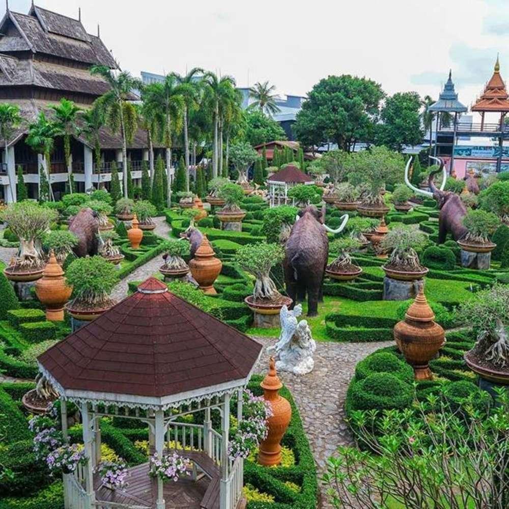 [태국, 파타야] [투어] 농눅빌리지&코끼리 트레킹 반일투어(한국인 전용) :: 태국/파타야
