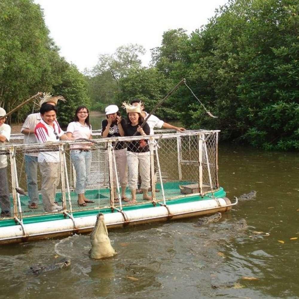 [베트남] [투어] 껀저 투어- 맹글로브 숲과 원숭이 섬 :: 베트남/호치민