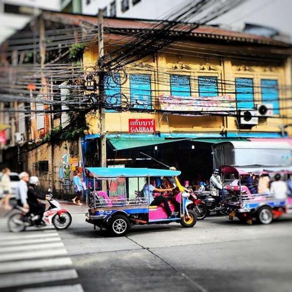 [태국, 방콕] [투어] 방콕 올드 타운 시티 투어(수상보트/툭툭/왓포/카오산/아시아티크) :: 태국/방콕