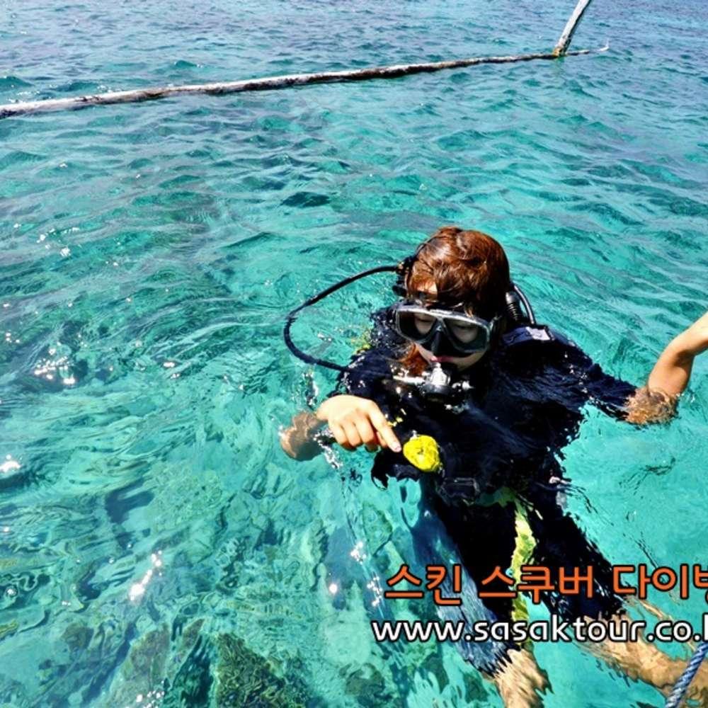 [인도네시아-롬복길리]  길리,롬복 체험 다이빙 투어 (2회 다이빙)