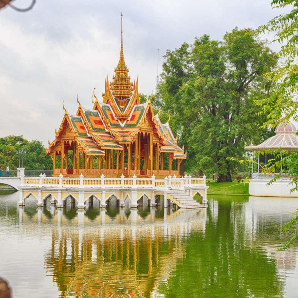 [태국/방콕] [투어] 방콕 베스트 고대유적지 아유타야 왓프라씨산펫+빅부다+왓마하탓+방파인