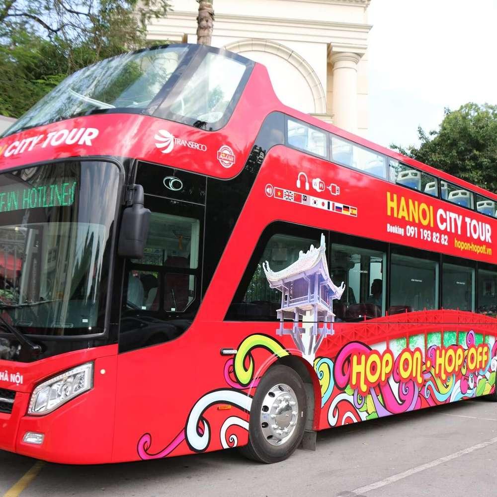 [베트남] 하노이 시티 투어 버스