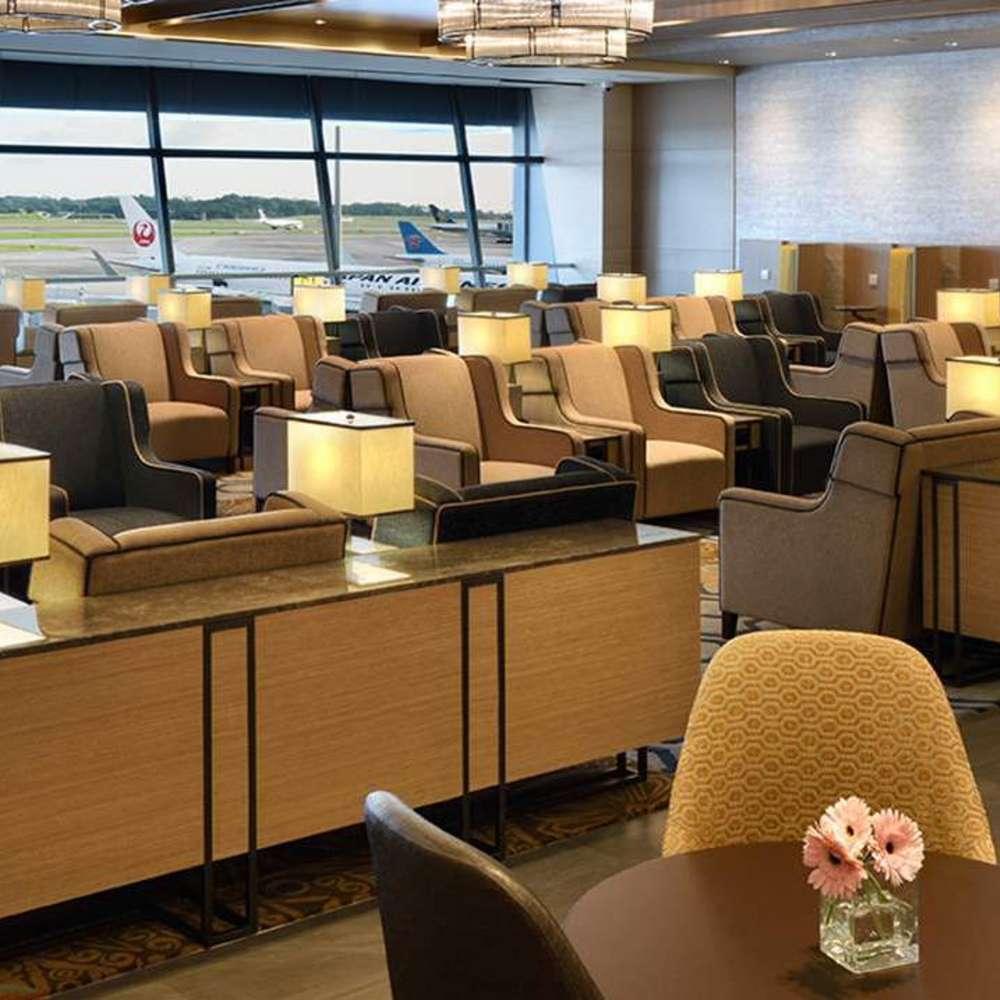 [싱가포르] 창이 공항 라운지 서비스 (Plaza Premium Lounge)