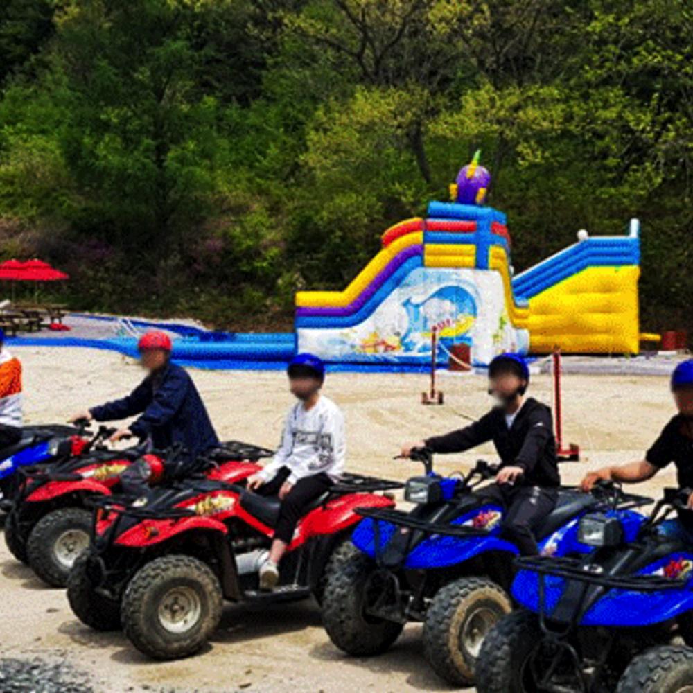 [경기도] 포천 산정호수 ATV 체험