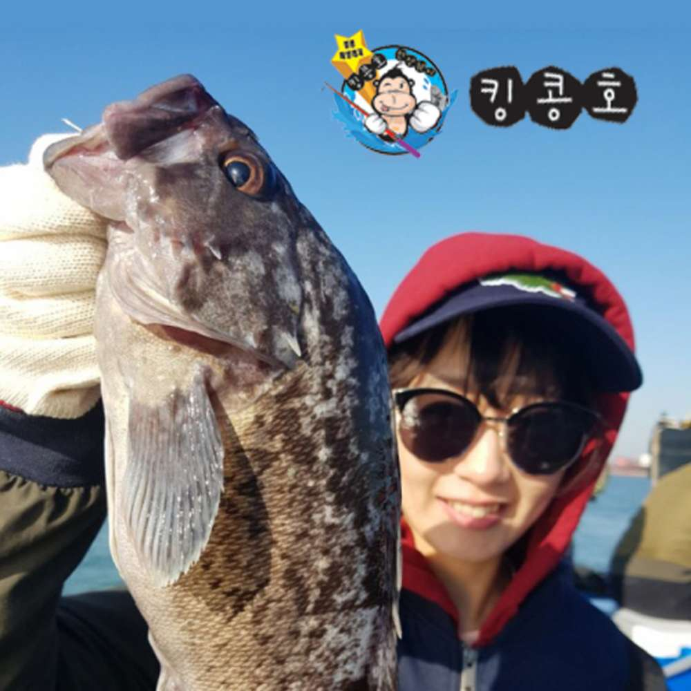 [인천] 킹콩낚시 먼바다 종일배 우럭, 광어낚시 인천배낚시