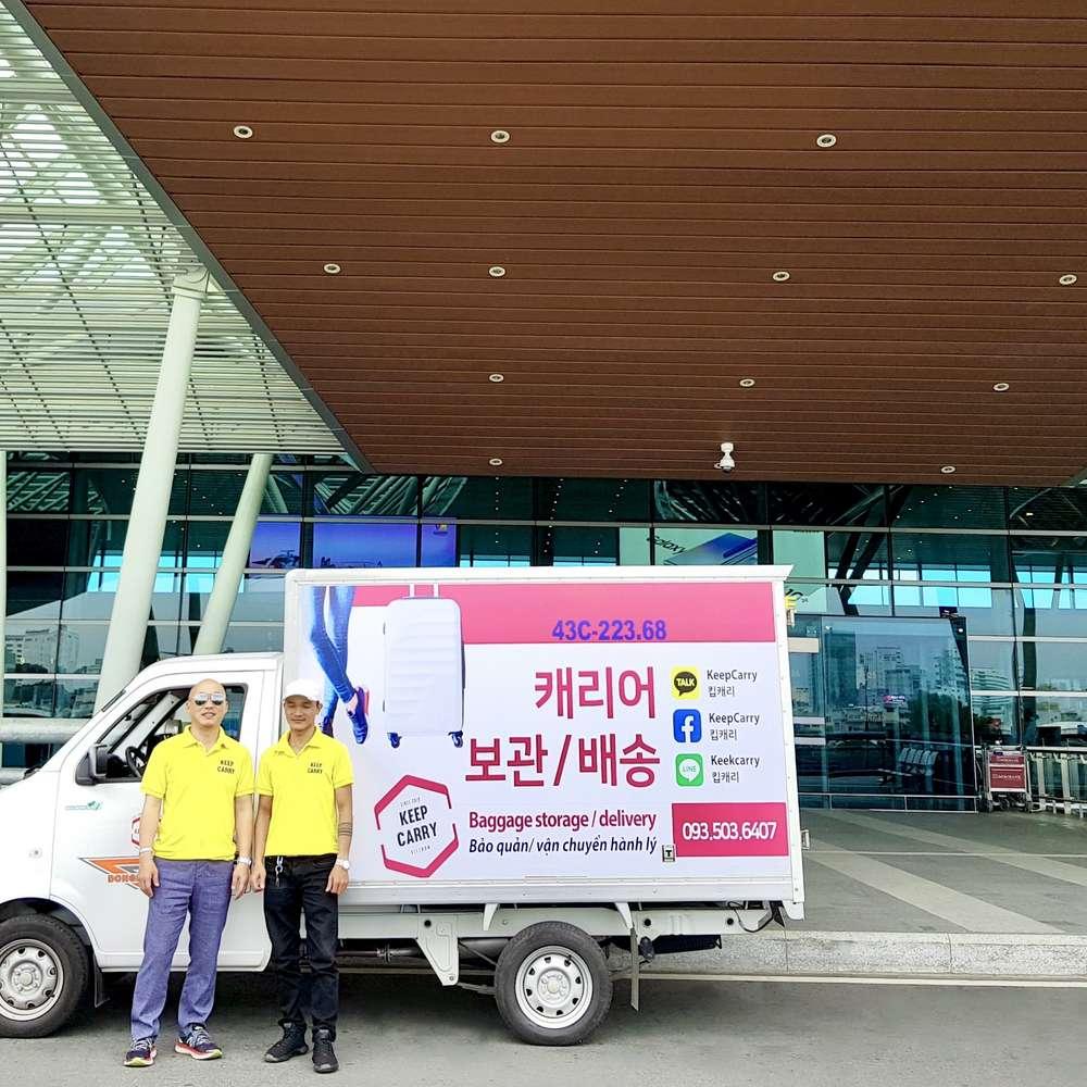 [다낭,호이안] 캐리어 보관 및 배송 서비스(다낭/호이안 숙소→다낭/호이안 숙소)