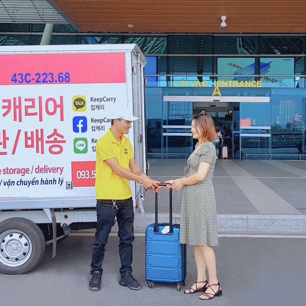 [다낭,호이안] 캐리어 보관 및 배송 서비스(다낭공항→다낭/호이안 숙소)