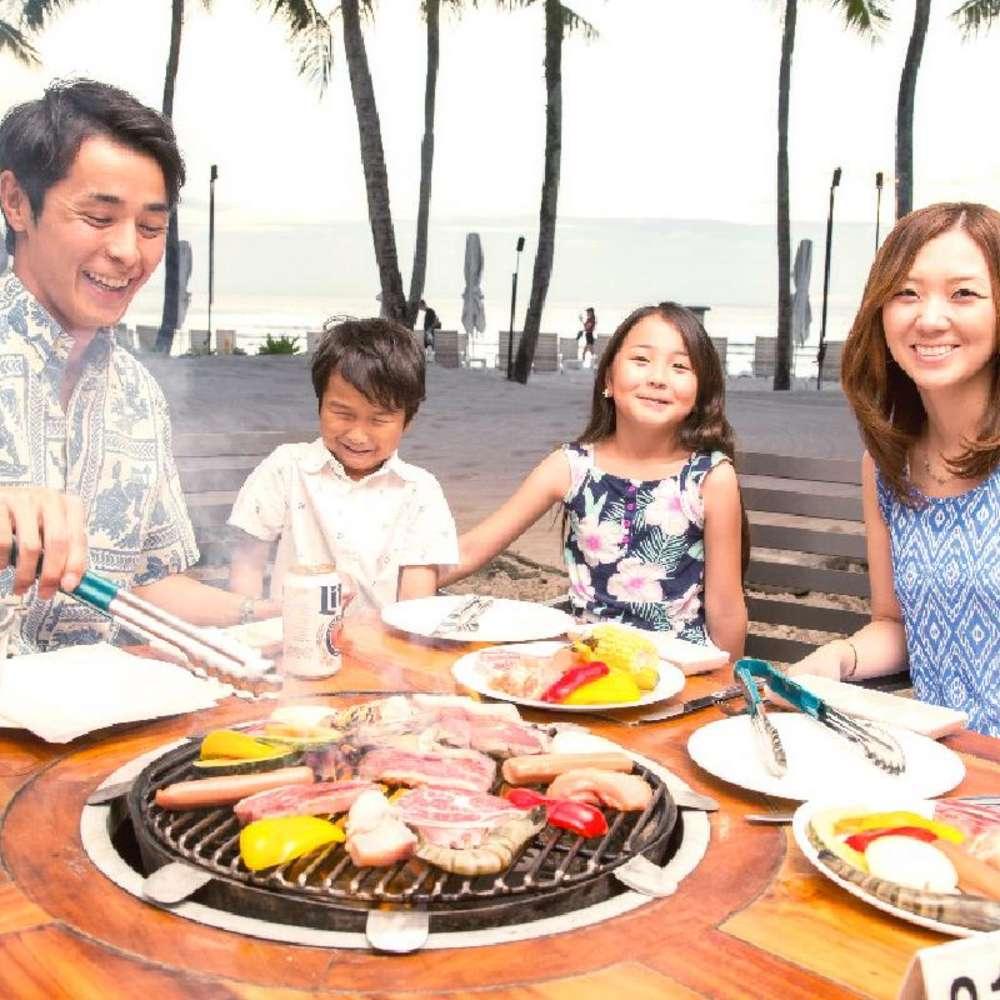 [괌] [벨트라] 닛코 호텔 선셋 비치 BBQ 식사권
