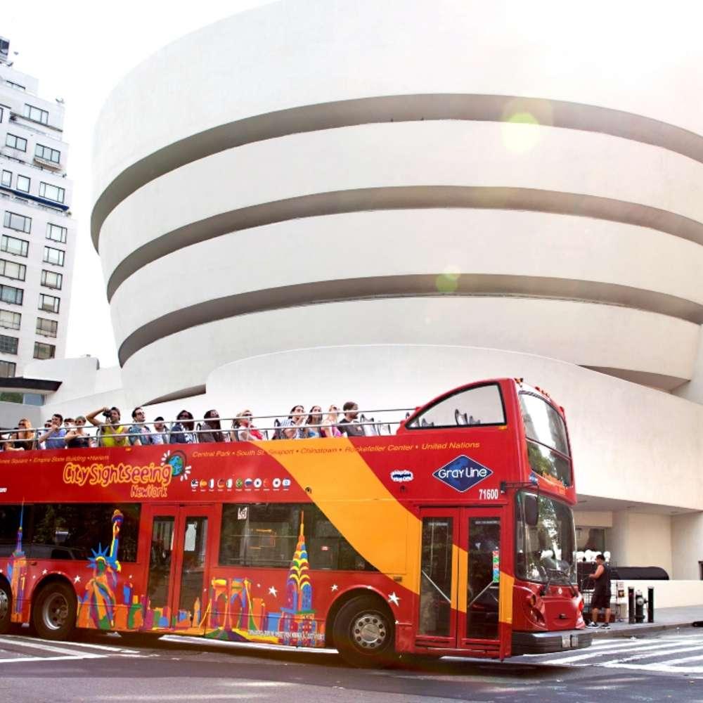 [뉴욕] 뉴욕 시티투어 버스 & 페리 투어 티켓
