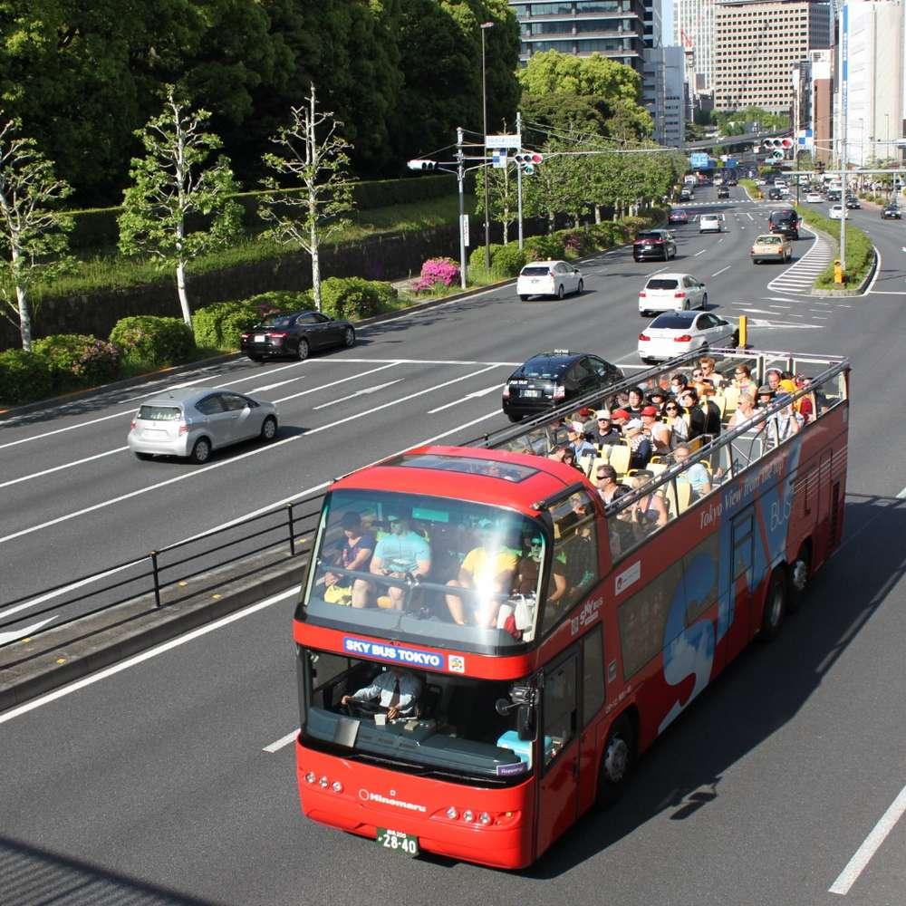 [도쿄] 도쿄 시티투어 스카이 버스