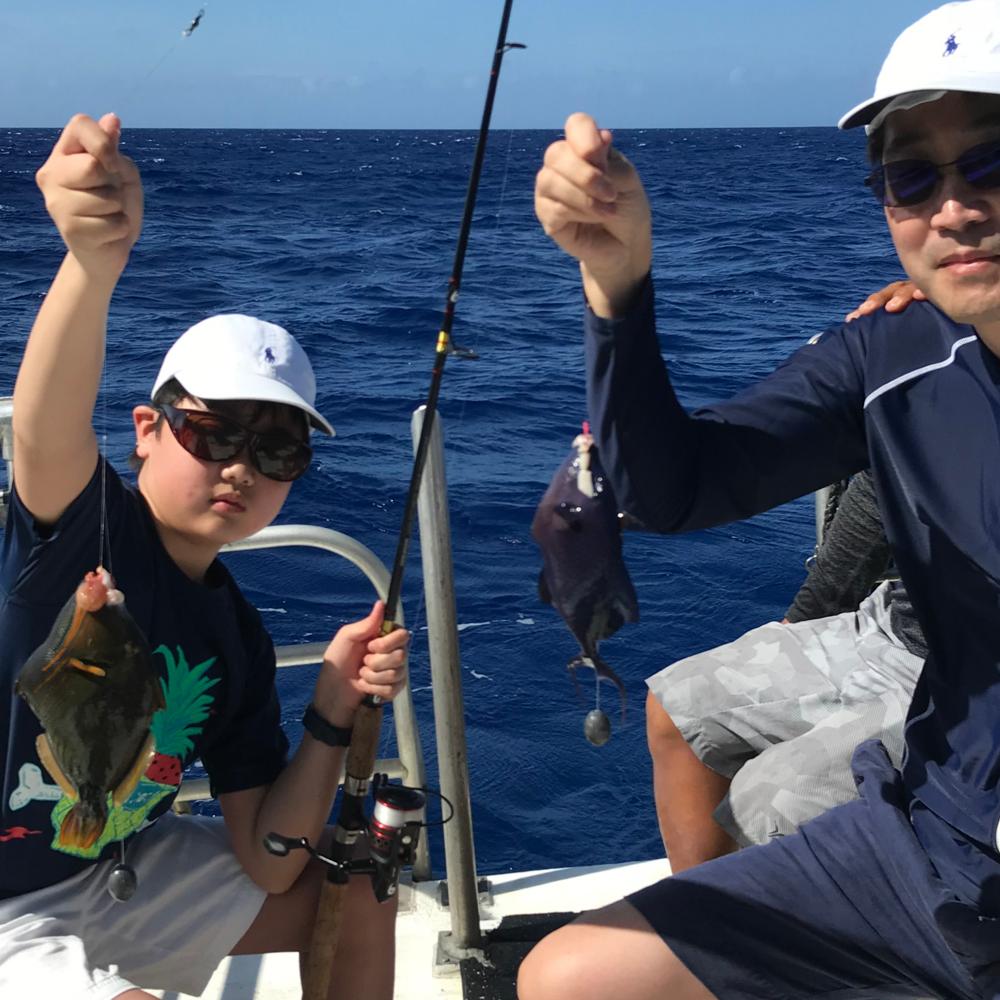 [괌] 괌 레인보우 가족 바다 낚시
