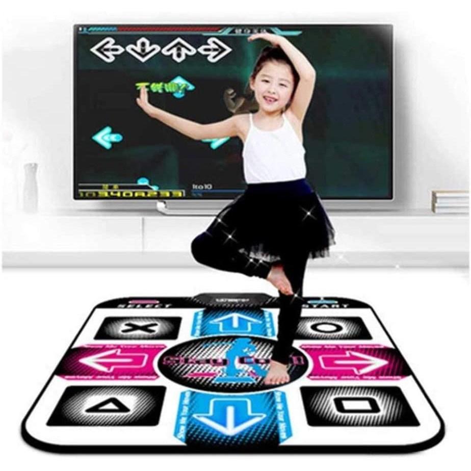플레이댄스 가정용 레트로 펌프 게임 DDR 댄스 매트 PC TV겸용, 1개, 1인용