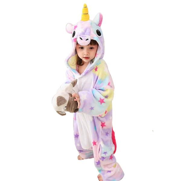 맘앤대디 어린이 동물잠옷 유니콘 스타