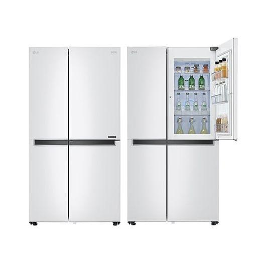 LG전자 양문형 디오스 냉장고 S833W32+양수냄비, 삼성카드 5% (20년/8월) LG전자 양문형 디오스 냉장고 S833W3