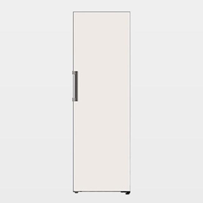 LG전자 오브제컬렉션 Z320GB 컨버터블 김치냉장고 1등급 미스트 글라스 베이지, 연결안함