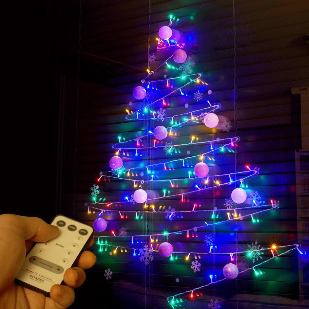 데이홈 스마트 LED벽트리 세트, 컬러혼합