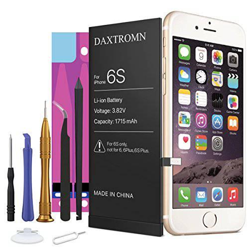 DAXTROMN 교체용 배터리 호환가능한 with 아이폰 6S - 교체용 Kit with 툴, 상세내용참조