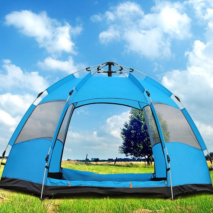 캠핑클럽 T41 4인 원터치텐트 패스트 팝업 캠프 자동 캠핑텐트, 1270956, 4인용
