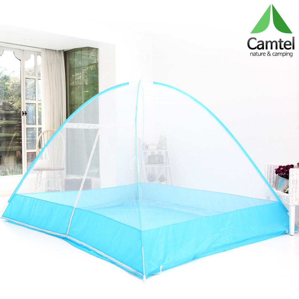 캠텔 1~10인용 바닥있는 원터치 모기장 텐트형
