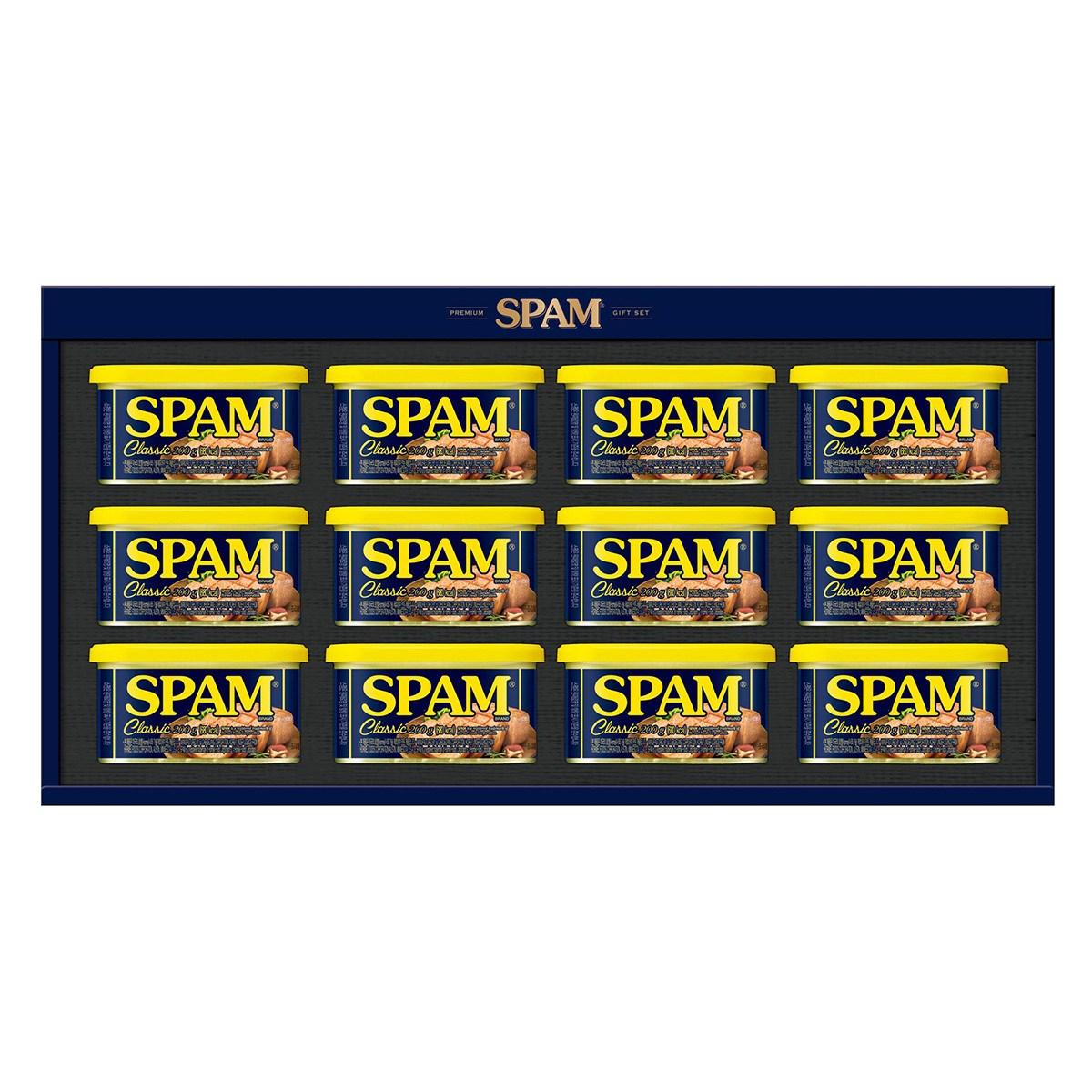 스팸 선물세트 6호 x 12세트 SPAM Gift Set #6 x 12set