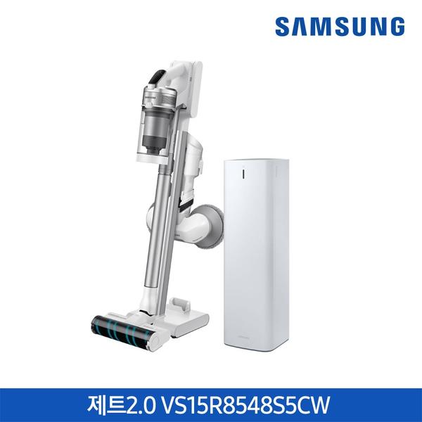 삼성전자 (싱글배터리)삼성 청소기 제트2.0 청정스테이션 VS15R8548S5CW, 기타, 단일상품