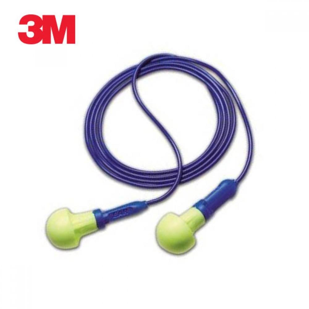 3M Push-Ins 끈 달린 귀마개 5개 이어플러그 소음 소음방지 수면용귀마개 청력보호