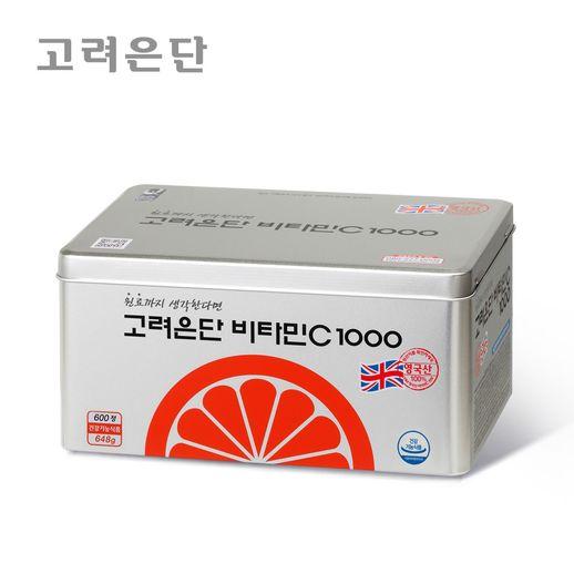 고려은단 고려은단 비타민C1000 600정 / 쇼핑백, 고려은단 비타민C1000  600정