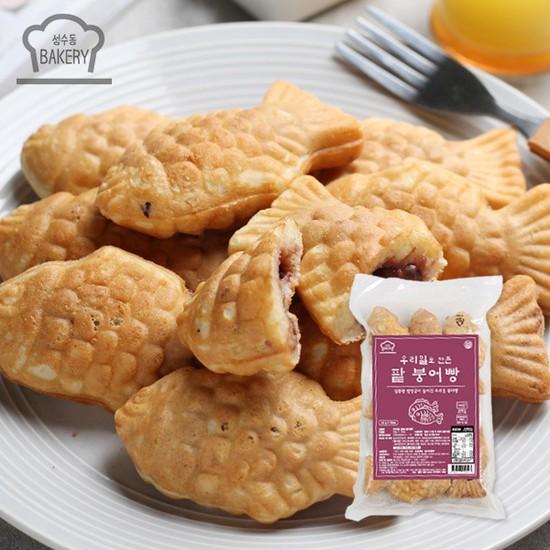 [MLC] 성수동BAKERY 우리밀 무농약 팥 붕어빵 3봉세트, 상세설명 참조, 없음