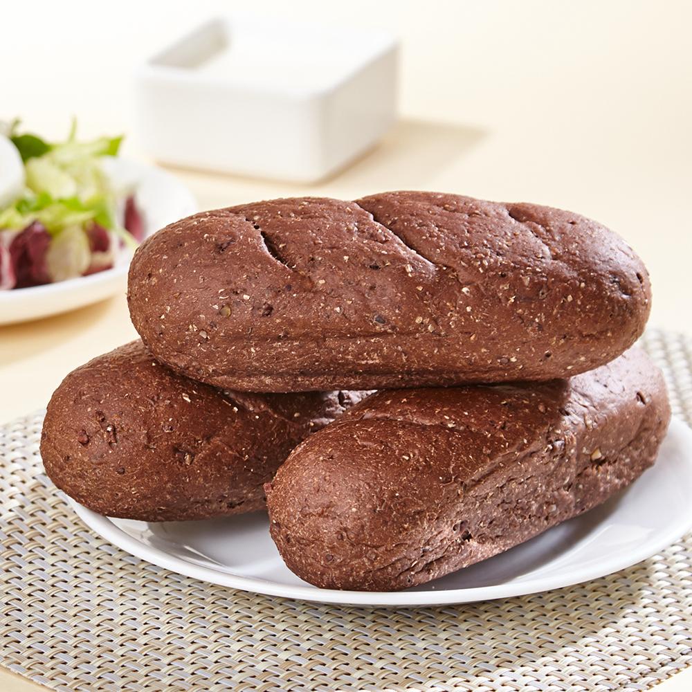 통밀명가 맛있고 건강한 저칼로리 통밀빵 비건 카카오빵, 2개입, 65g
