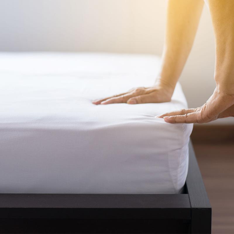 이투스 [단품 / 1+1할인가]모음 매트리스 침대 방수커버, (100cmX200cm) S 싱글, [단품], 01 베이직 화이트