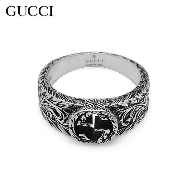 [Gucci]구찌 쥬얼리 455249 J8400 0701 (YBC455249001) Interlocking 실버반지