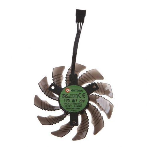 [해외] 1 12 볼트 그래픽 카드 핀 냉각 팬 기가 바이트 GTX1050 1060 1070 1080 N960 N970, 상세내용표시