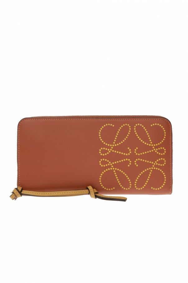 로에베 지갑 로고 - BROWN - UNI 10354T12 0-TAN OCHRE 150불 이상 주문시 부가세 별도