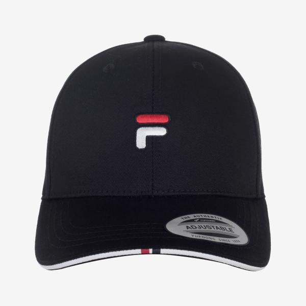 휠라 F로고 베이스볼캡 _FS3CPC5203XBLK 남녀공용야구모자/군모
