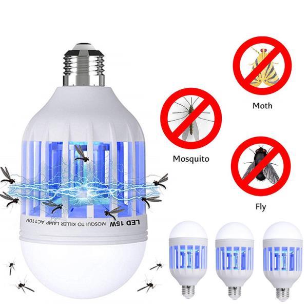 안티 모기 펠러 빛 AC175 ~ 220 볼트 LED 모기 킬러 전구 E26 / E27 LED 전구 홈 조명 버그 랩퍼 트랩 램프, 02 China, 01 E27  230v
