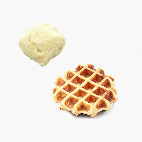 냉동생지 - 와플생지(소) (60Gx15개) - 카페메뉴, 60g-6-1354125556