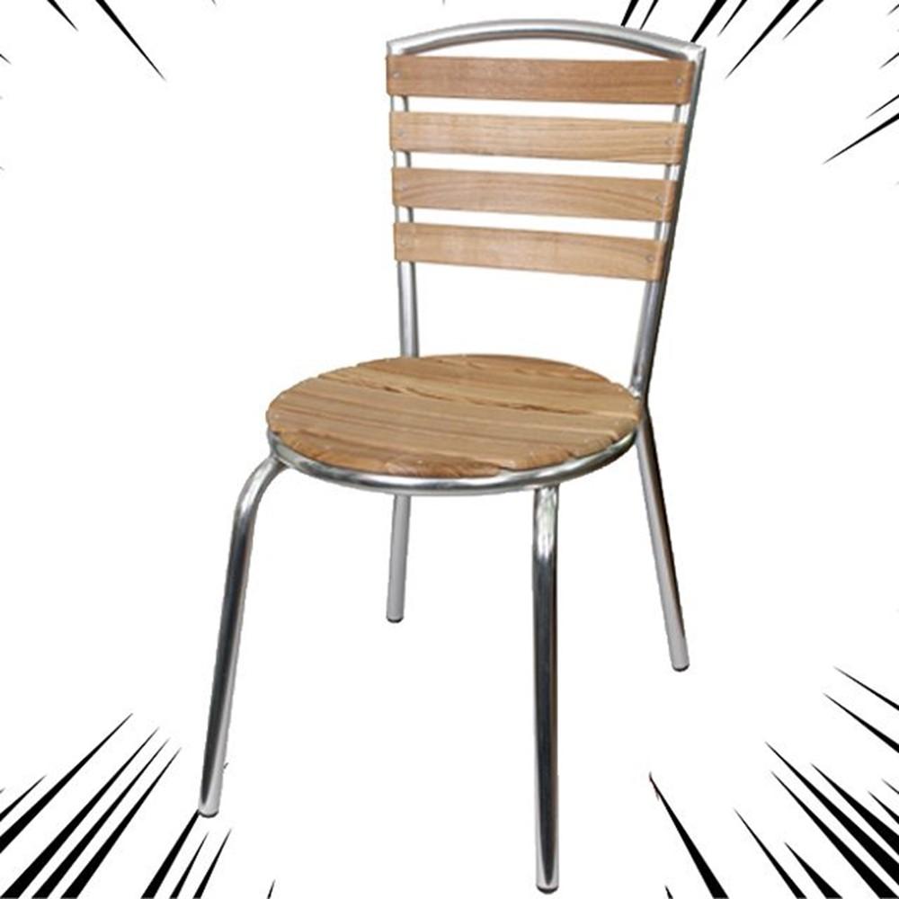 치킨집 편의점 제과점 야외전용 알루미늄 의자I 강당 포장마차 개인마트 펜션 테이블, 상세페이지참조(명진 등사단)