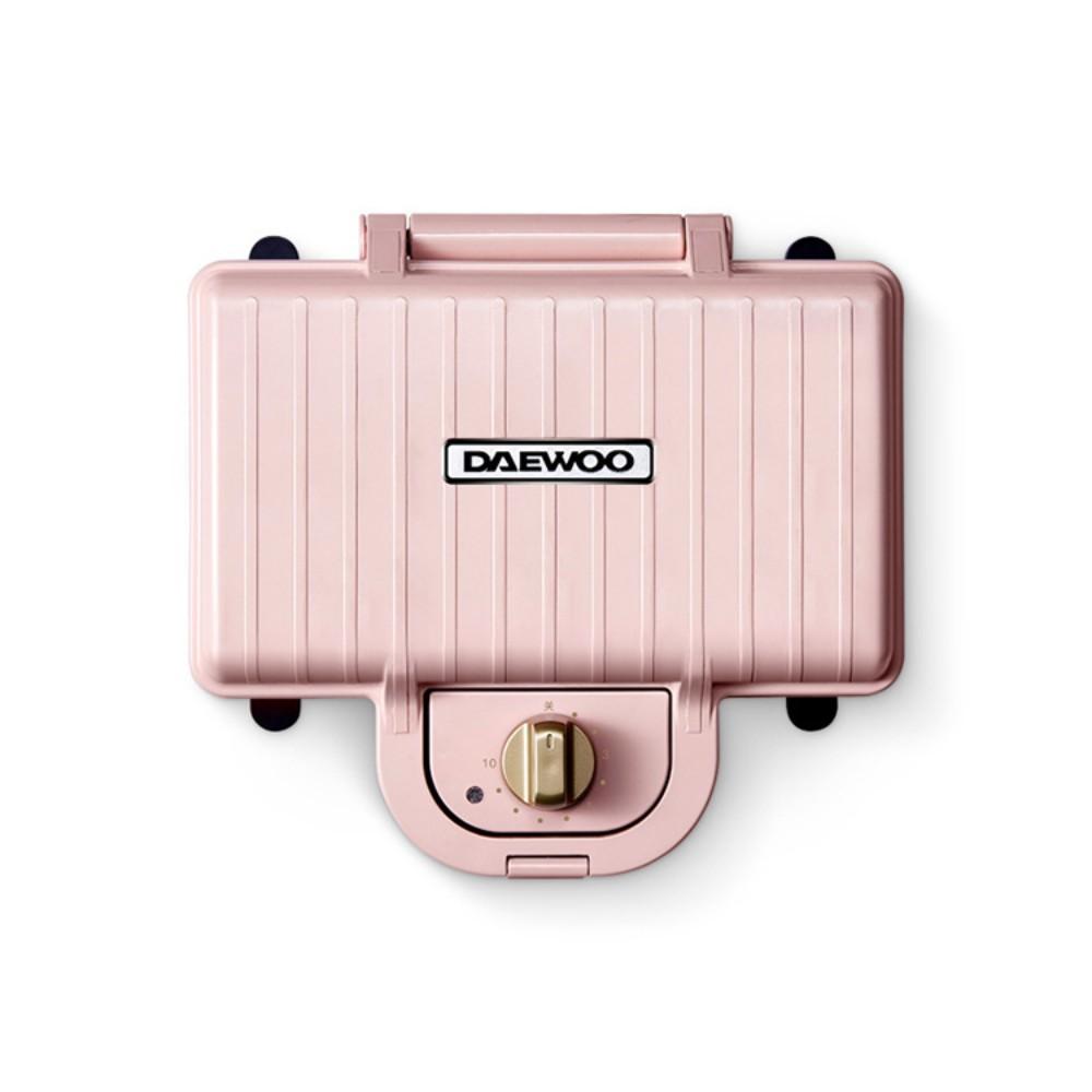 대우 샌드위치 메이커 아침 식사 기계 가벼운 음식 가정용 다기능 샌드위치 빵 와플 토스트 압력 베이킹, (더블 칩) 표준