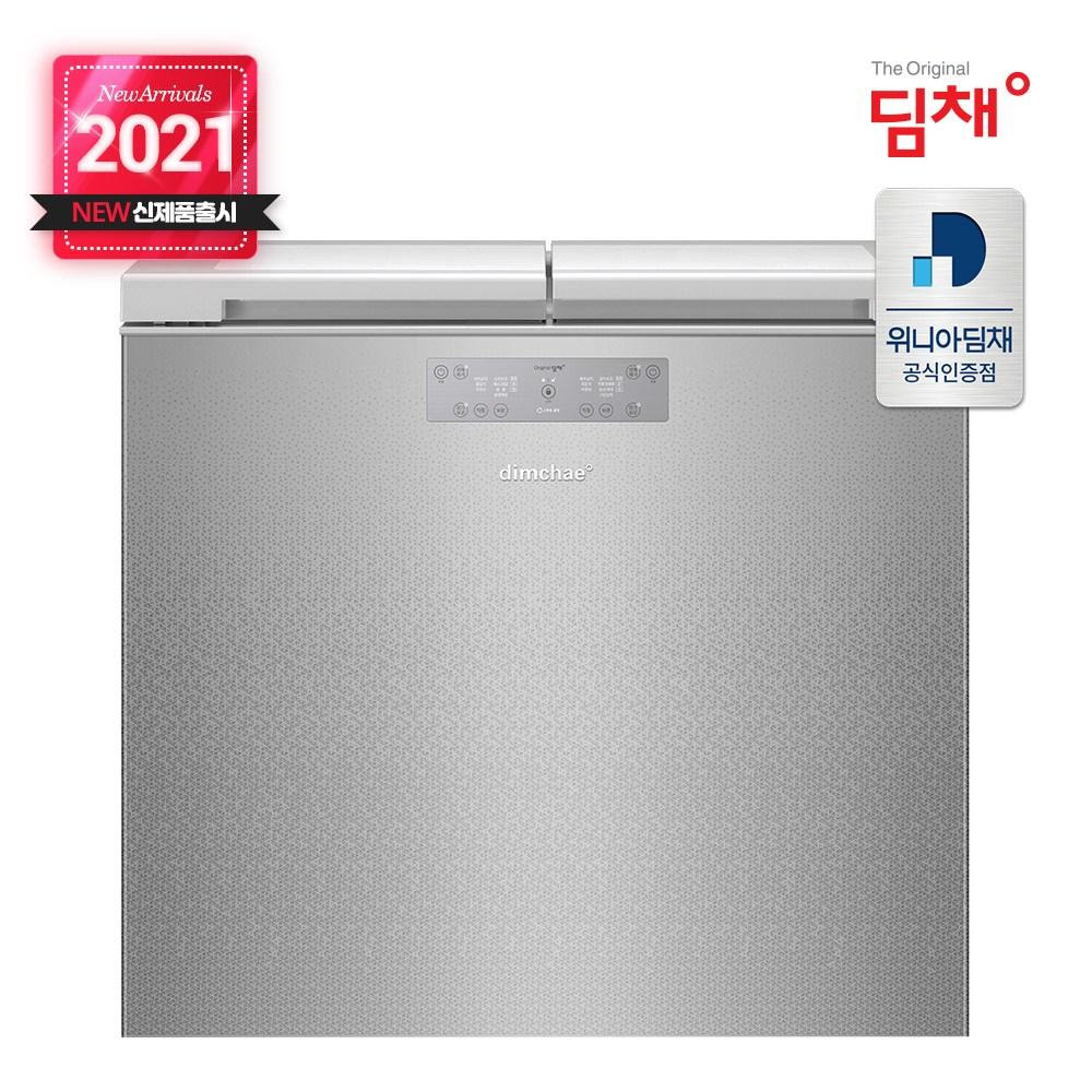 딤채 [신제품출시] 뚜껑형 김치냉장고 EDL22EFWPSS 221리터 전국무료배송