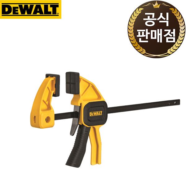 디월트 목재 목공용 4.5인치 트리거 소형 클램프 DWHT83191