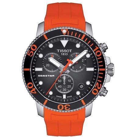 Tissot Seastar 1000 Chronograph Quartz Black Dial Mens Watch T120.417.17.051.01 PROD80001186