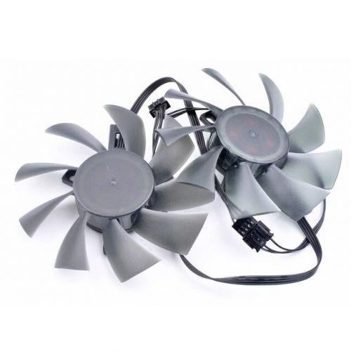 [해외] 오리지널 T129215SU 12 V 0.50A GTX 1050 1060 1070 RX580 그래픽 카드 냉각 이중 팬, 상세내용표시