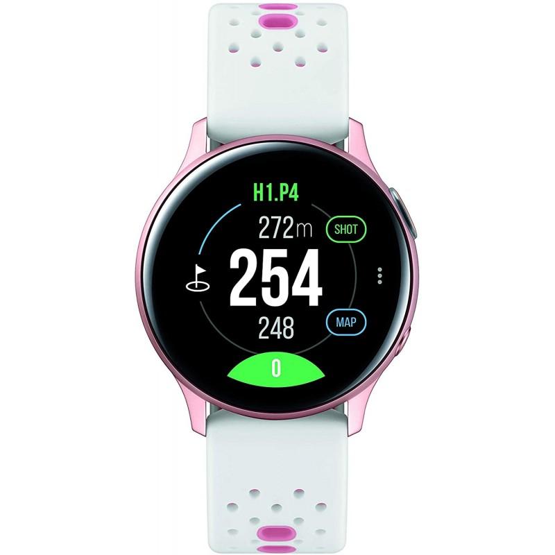 Samsung Electronics Galaxy Watch Active2 40mm BT (골프 에디션) 금-보증이있는 미국 버전 (SM-R830NZDGGFU), 단일옵션, 단일옵션