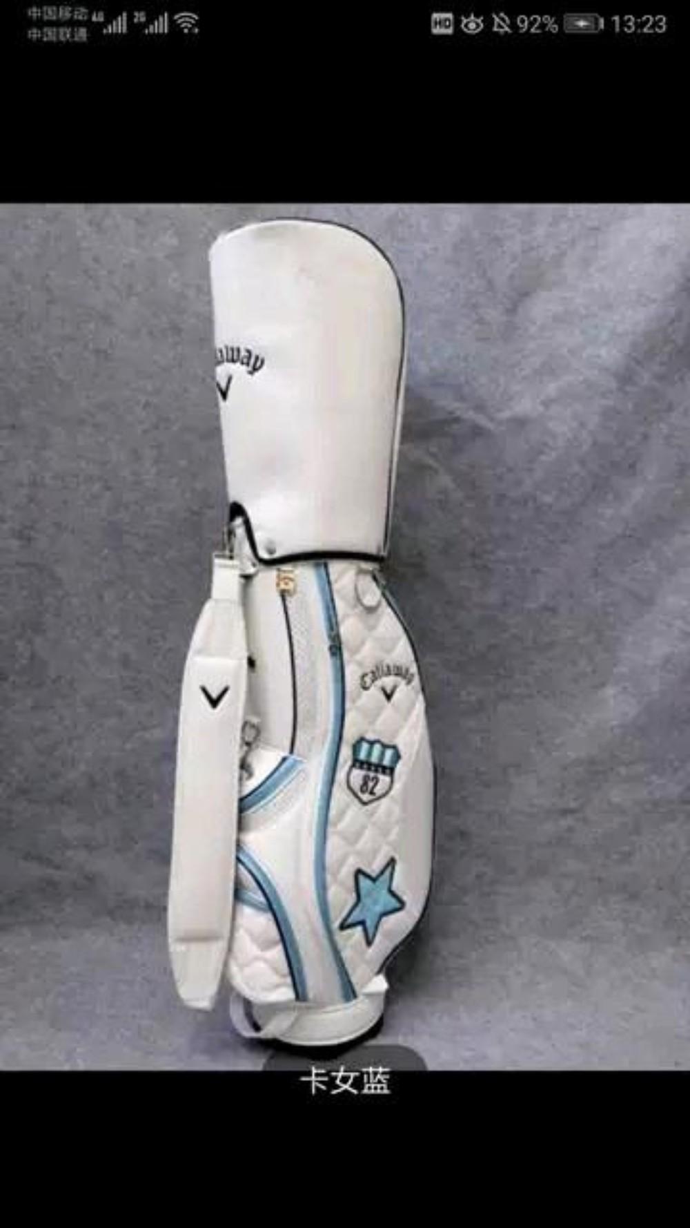 캐디백 여성 골프백 golf 캐디백, 블루-4-4867266581
