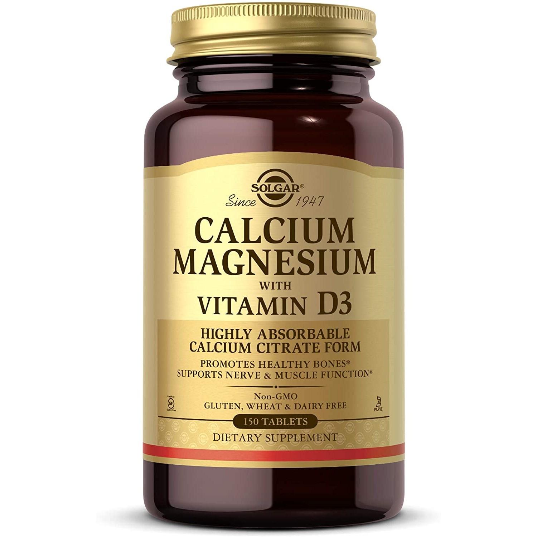 솔가 칼슘 마그네슘 비타민 D3 타블렛, 150개입, 1개-2-3148629