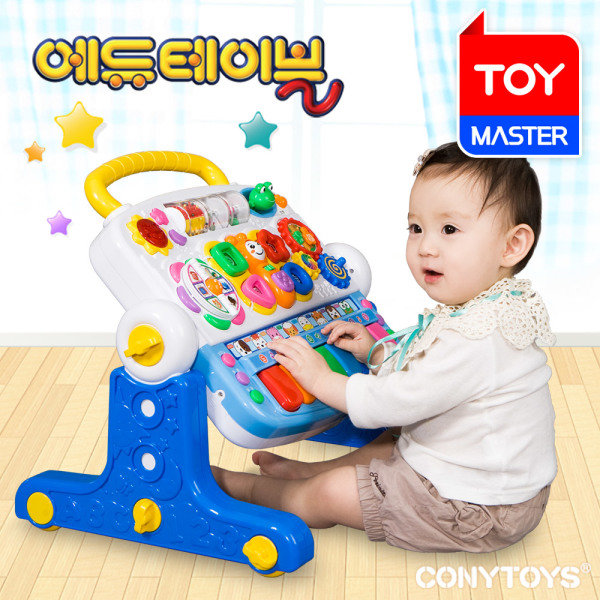 [코니실업] 에듀테이블 / 멜로디 아기체육관 아기걸음마 학습테이블, 선택:[코니스] 에듀테이블
